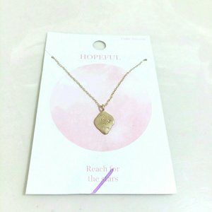 Cubic Zirconia Reach For The Stars Necklace
